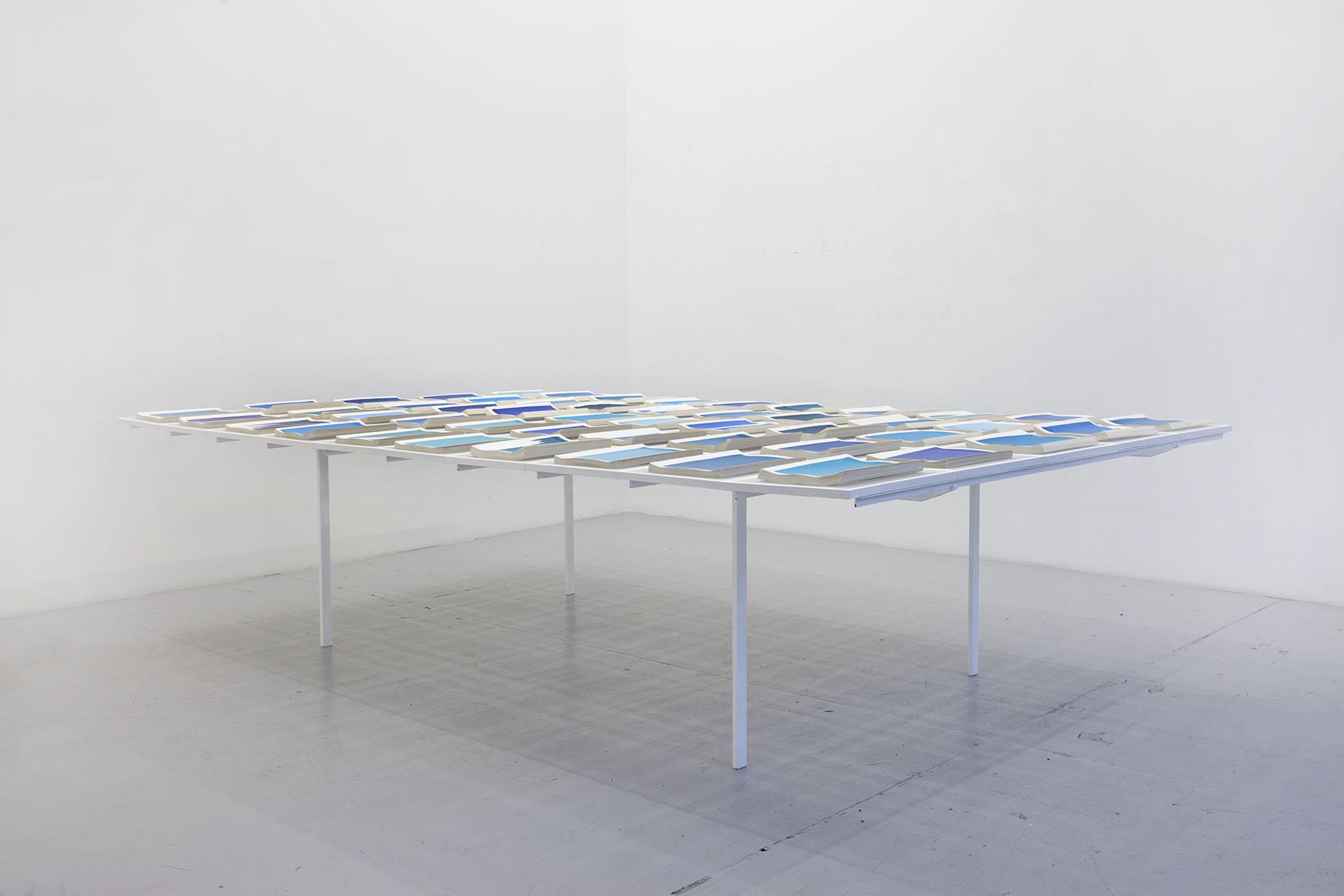 Untitled , 2012, Fifty handmade books